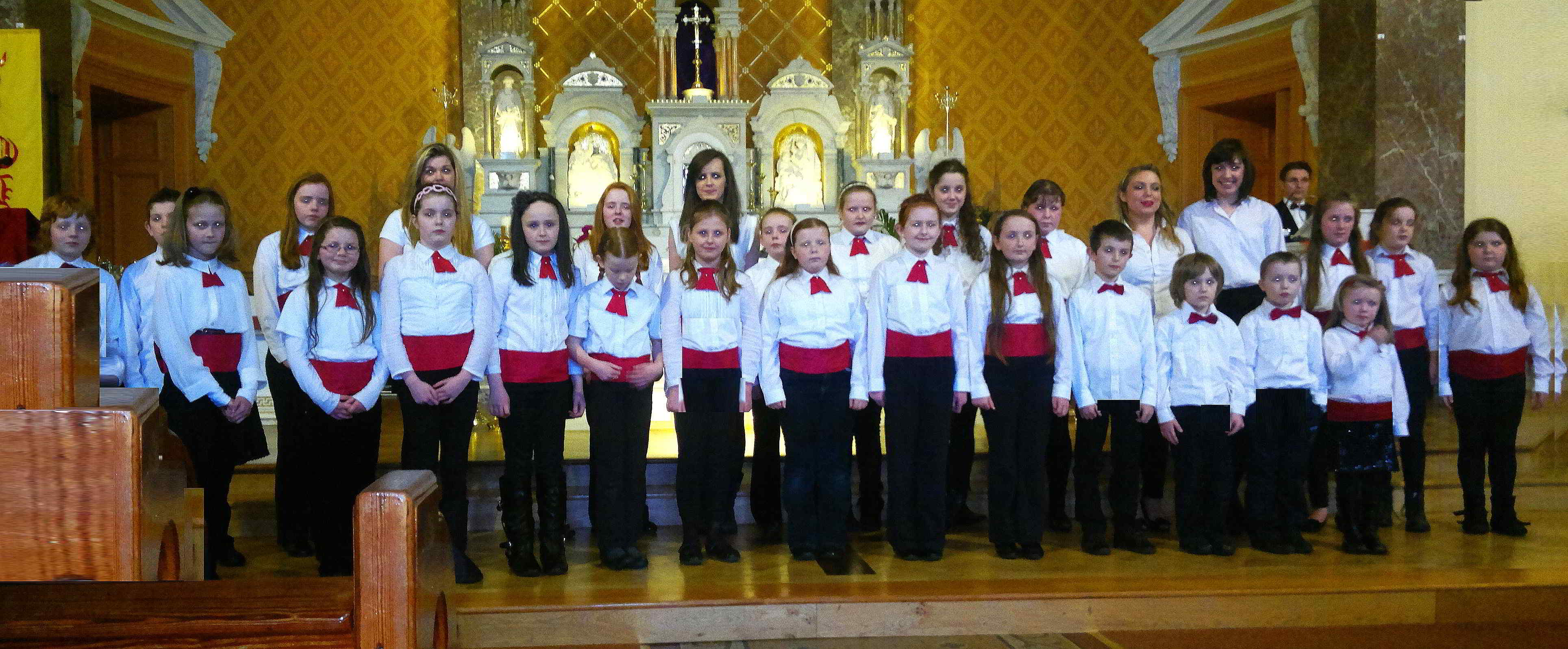 Moate Youth Choir Awards